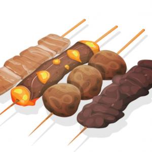 YAKITORI - Brochettes viande